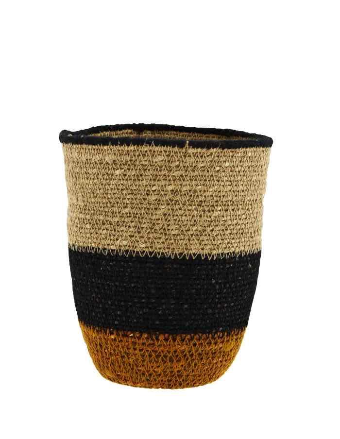 Block Design Seagrass Basket, Madam Stoltz
