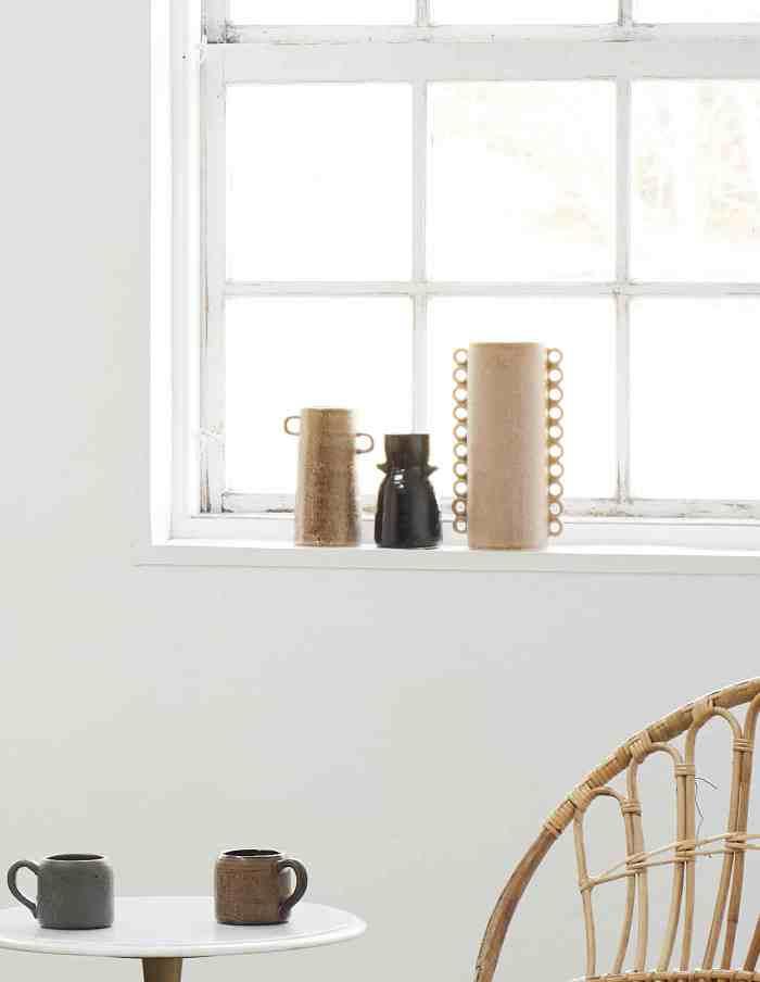 Powder Pink Vase with Ruffles, Madam Stoltz