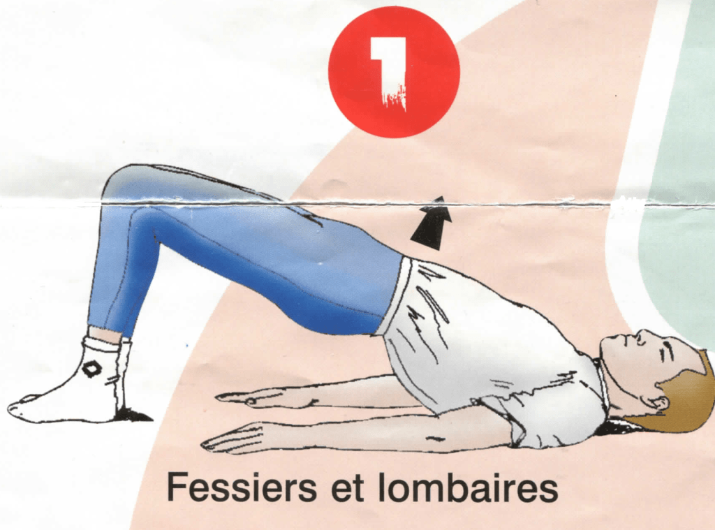 Dorso-lombaires - Exercice 1