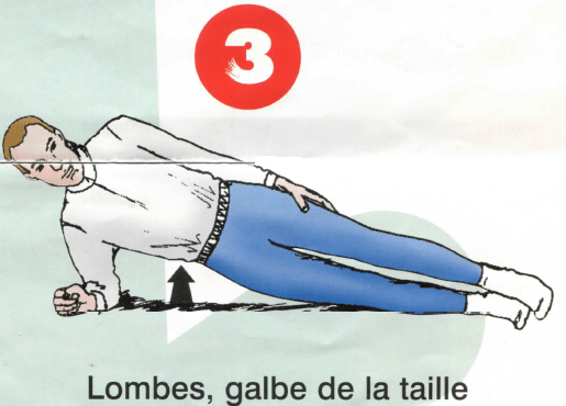 Dorso-lombaires - Exercice 3
