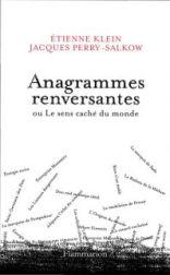Livre Anagrammes renversantes