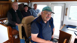 Fred at the Helm