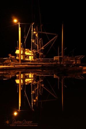 Tenakee Docks at Night