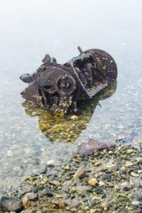 Engine on the Beach