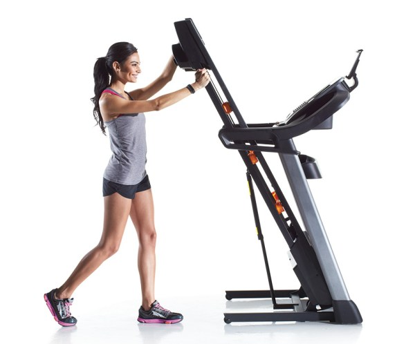 nordictrack C1650 treadmill folding