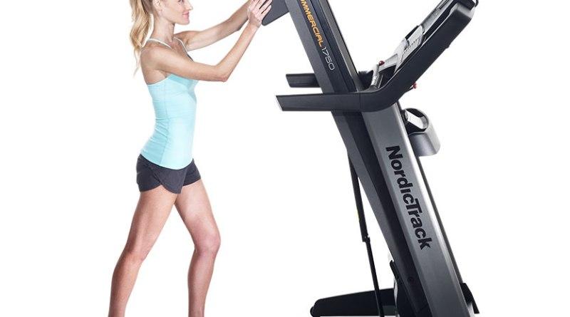 1750 Commercial Treadmill Folding