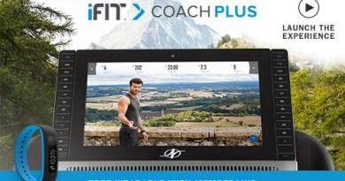 nordictrack treadmill ifit coach plus