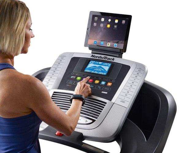 nordictrack c630 treadmill console