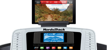 nordictrack treadmill with iFit LiVE