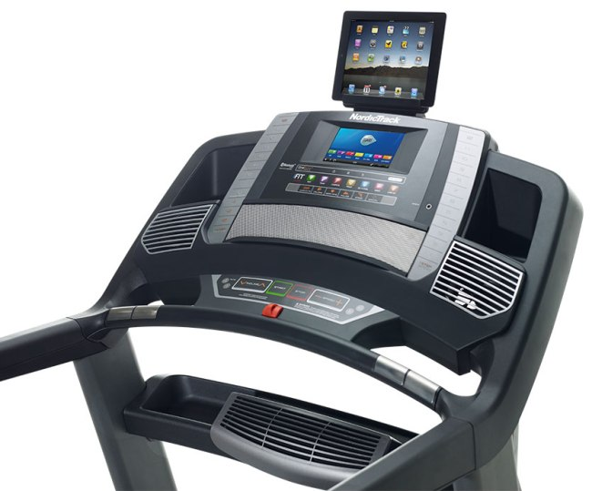 nordictrack 1750 treadmill review - tablet
