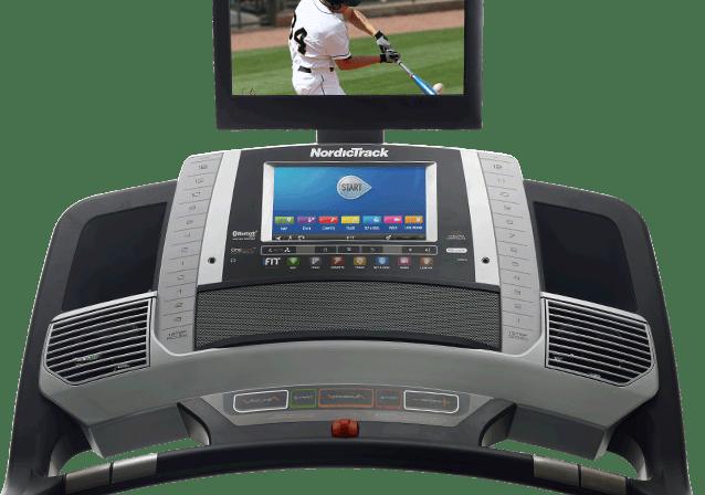 nordictrack commercial 2950 treadmill console