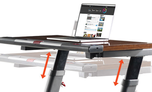 nordictrack treadmill desk vs treadmill desk platinum comparison