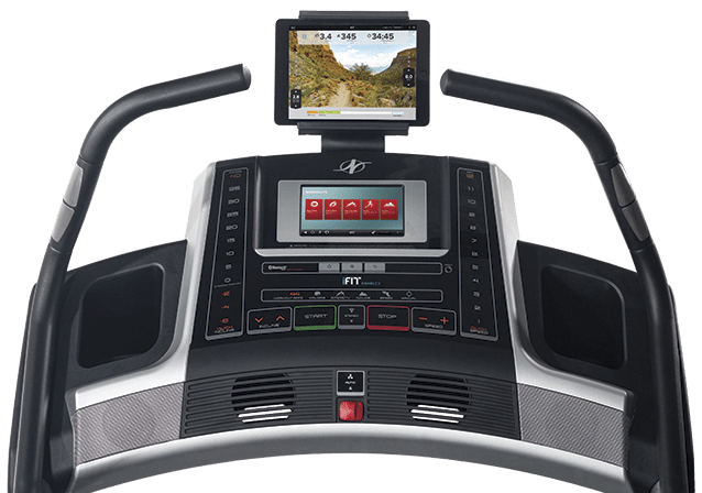 nordictrack x9i incline treadmill console