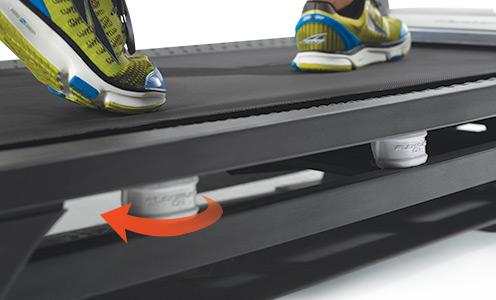 c700 treadmill cushioning