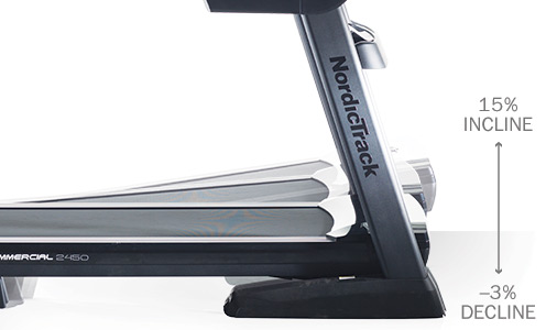 nordictrack 2450 vs 2950 treadmill