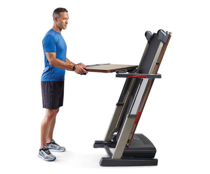 nordictrack desk treadmill platinum folding