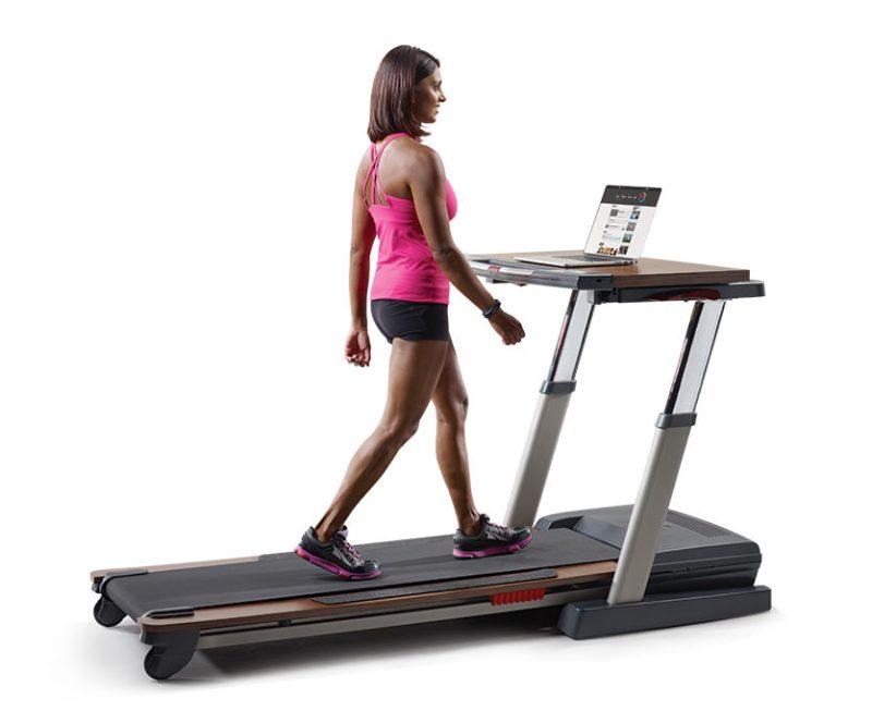 Nordictrack treadmill desk vs platinum comparison