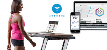 nordictrack desk treadmill platinum with ifit live