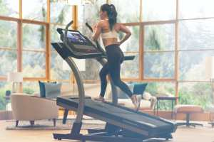 does the nordictrack incline trainer fold up