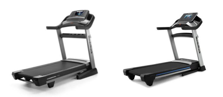 nordictrack exp 10i vs 1750 treadmill comparison