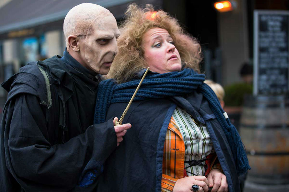 The Harry Potter Festival is one of many fun things to do in Odense, Denmark