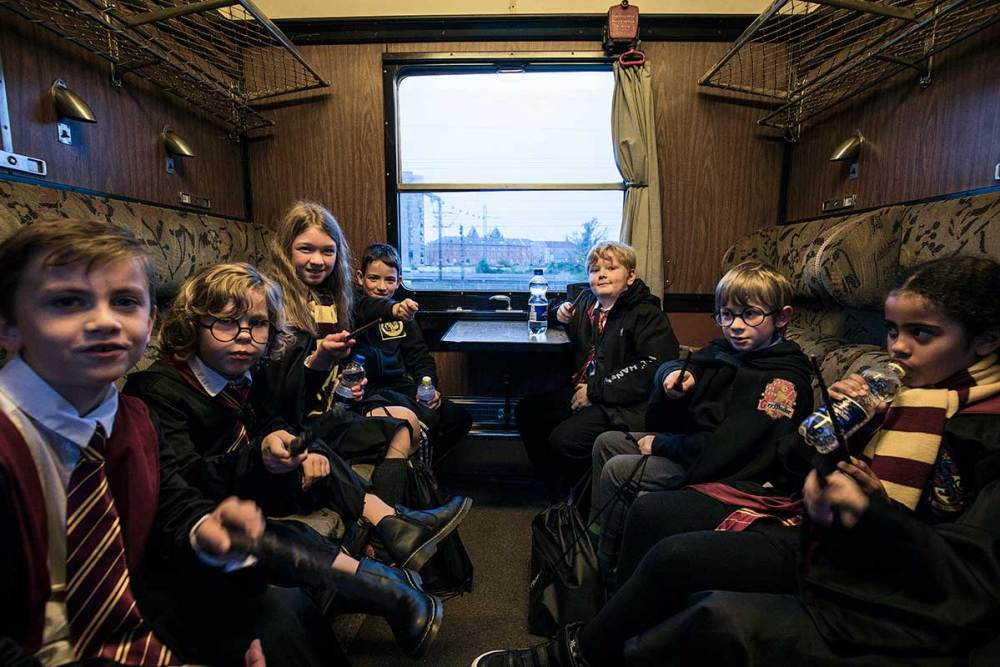 The Hogwarts Express, Harry Potter Festival in Odense