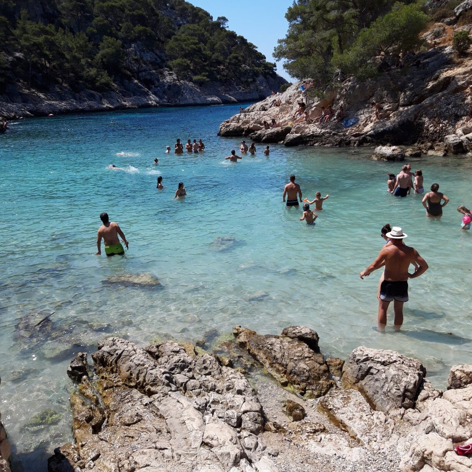 Hiking the Cassis Calanques