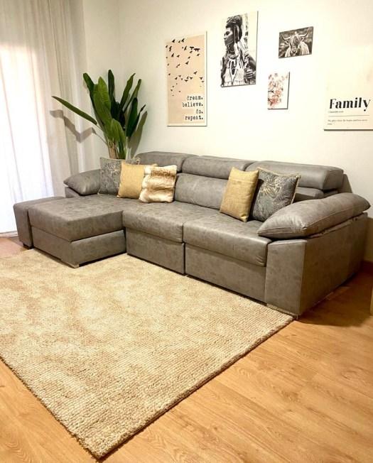 alfombras en decoración nórdica