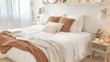 Dormitorio con aire natural