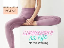 Legginsy na kije Nordic Walking Hanna Style