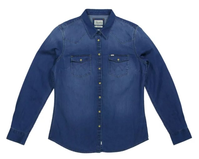 Women: Cold Ready Denim Western Shirt