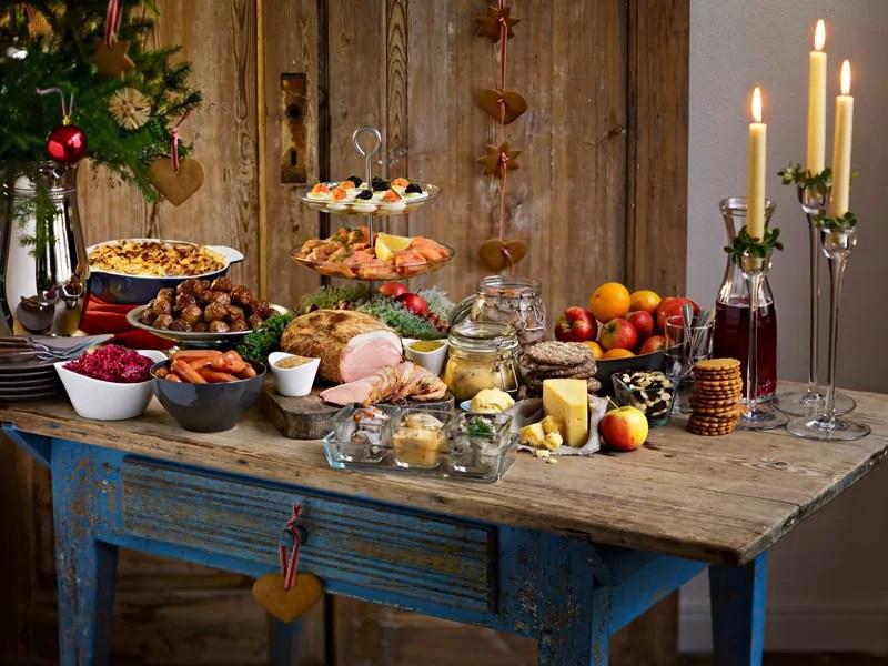 schwedisches weihnachtsbuffet julbord bei ikea. Black Bedroom Furniture Sets. Home Design Ideas