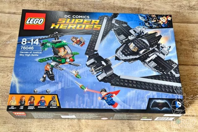 LEGO Batman, 76046, DC Domics, Super Heroes, 2016, 2017, neu, new, Helden der Gerechtigkeit: Duell in der Luft, Batwing, Lex Luthor, Wonder Woman, Lois Lane