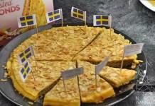 Julbord, schwedisches Buffet, Ikea, Osnabrück, Elch, Lachs, Mandeltorte, Knäckebrot, Köttbullar, Brot, Käse, Blog, Schweden, Skandinavien, Tünnbröd, Lucia