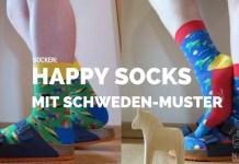 Happysocks, Happy Socks, Strümpfe, Socken, Schwedenmuster-Strümpfe, Schweden-Muster, Schweden Blog, Skandinavien