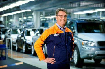 Gegenwart: Volvo Produktion in Torslanda