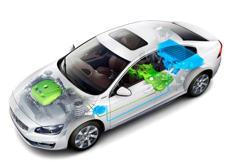 Volvo S60L Benzin Plug-in-Hybrid