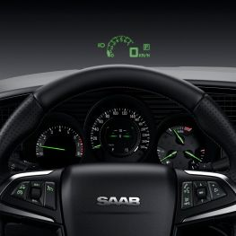 Cockpit mit Head-up Display