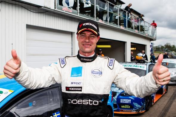 Fredrik Ekblom - Sieger im zweiten Lauf