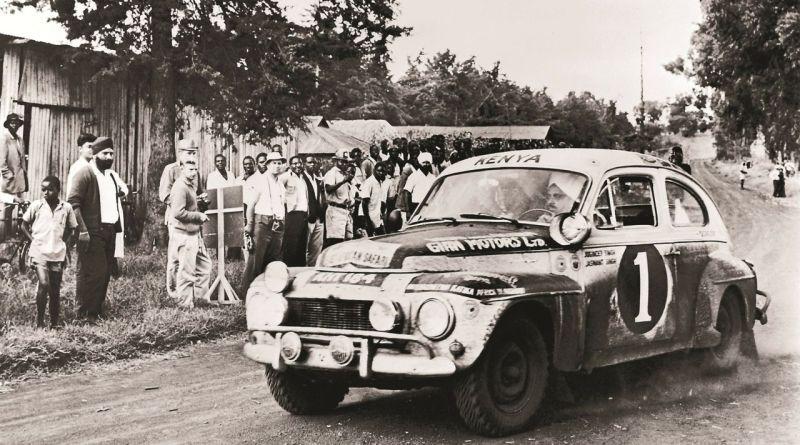 Volvo P544 Rallye Car