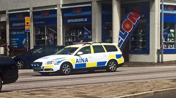 Volvo V70 im Polis Trim in Malmö