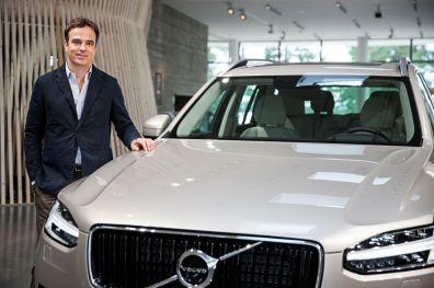 Philipp Mainzer und der neue Volvo XC90