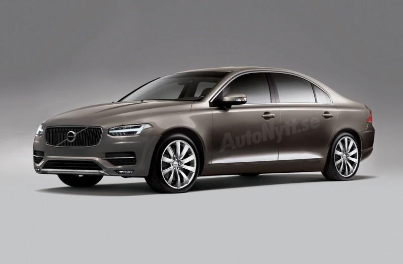 Neuer Volvo S90. Bild: Autonyt.se