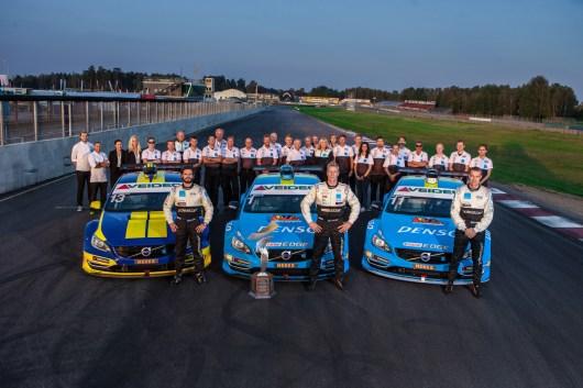 Volvo Polestar STCC Finale 2014