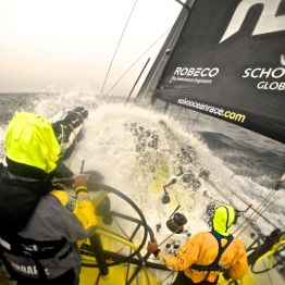 Volvo Ocean Race, Etappe 1. Bild: Volvo