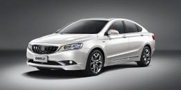 2015 Geely GC9. Design Peter Horbury