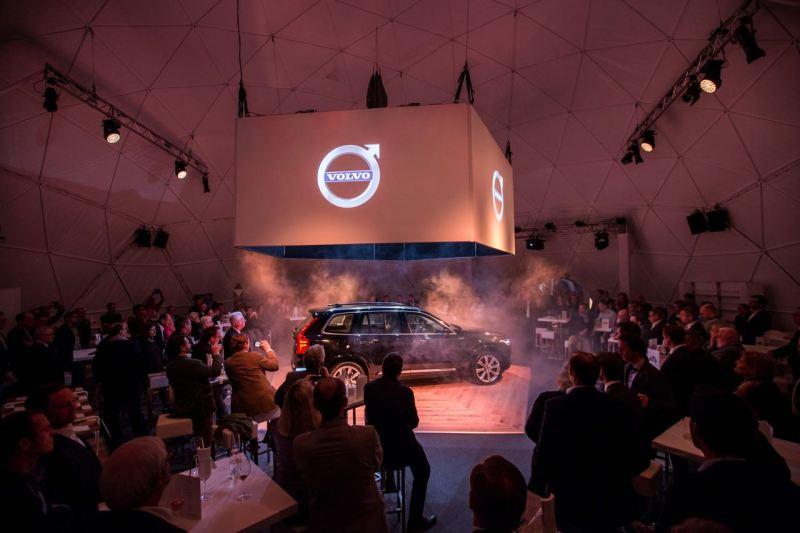 Volvo XC 90 Premiere in Wien. Bild: Volvo Cars