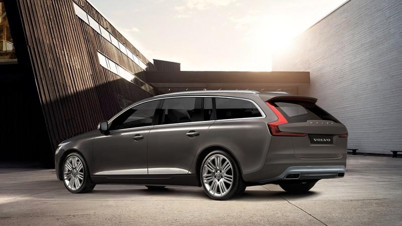 Neuer Volvo V90 - Bild: Autonytt.se
