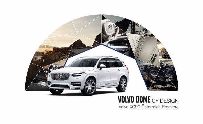 Volvo XC90 Premiere in Wien Bild: Volvo Austria