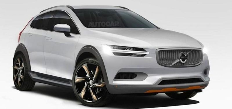 Volvo XC40, Entwurf: autocar.co.uk.